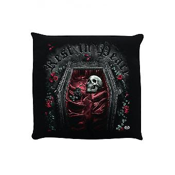 Gothic Homeware Rest In Peace Cushion