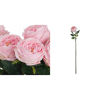 Hill Interiors Artificial Single Stem Portland Rose
