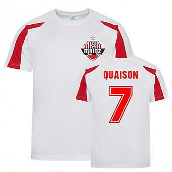 Robin Quaison Mainz Sports Træning Jersey (Hvid)