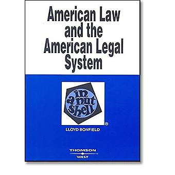 American Law and the American Legal System in a Nutshell (Nutshell Series)