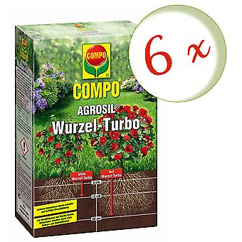 Sparset: 6 × COMPO AGROSIL الجذر توربو, 700 غرام