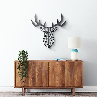 Arte della parete in metallo - Cervo geometrico