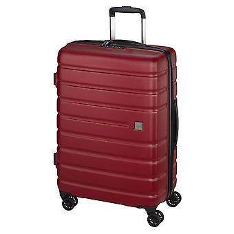 d&n Travel Line 2200 Trolley L, 4 wielen, 75 cm, 95 L, rood