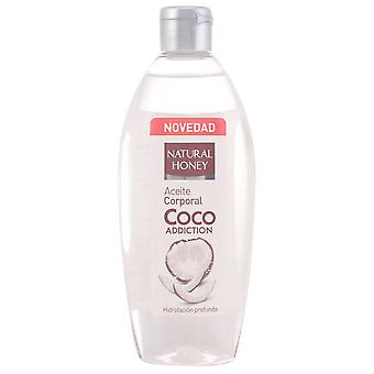 Natural Honey Coco Body Oil 300 Ml Addiction