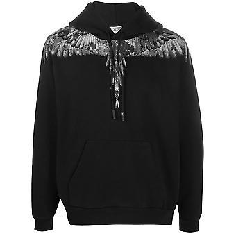 Marcelo Burlon Cmbb007e20fle021007 Men's Black Cotton Sweatshirt