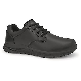 Shoes For Crews Mens Saloon II Lace Up Slip Resistant Shoes