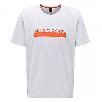 Hugo Boss Identitet RN Logo T-shirt Grå 50424962