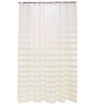 YANGFAN moderna raya espesa a prueba de agua Mildew PEVA ducha cortina