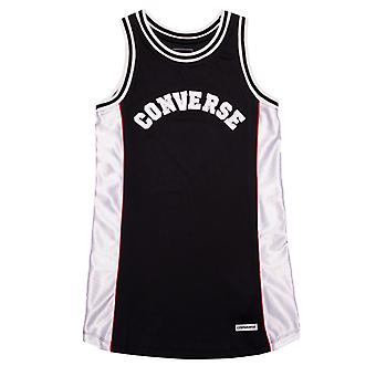 Robe de jersey de basket-ball junior de fille de fille;s en noir