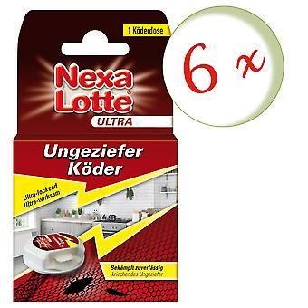 Sparset: 6 x NEXA LOTTE® Ultra Vermin Bait, 1 piece