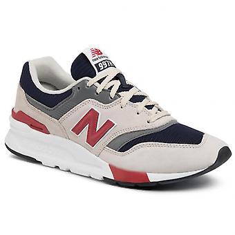 New balance 997 grey navy sneakers mens grey, blue 001