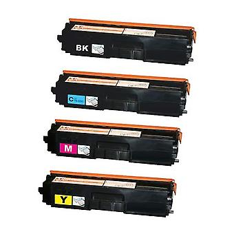 RudyTwos Replacement for Brother TN328 Set Toner Cartridge Black Cyan Magenta & Yellow Compatible with CP-8070D, DCP-8085DN, HL-5340D, HL-5350DN, HL-5350DNLT, HL-5370DW, HL-5380DN, MFC-8370DN, MFC- 83