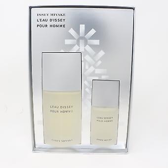 Issey Miyake L'eau D'issey Pour Homme Eau De Toilette 2 Pcs Set  / New With Box