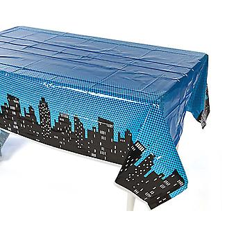Plast Superhelt Tablecover for Childrens Parties
