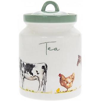 Country Life Farm Tea Canister