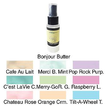 Lindy's Stamp Gang Merci Beaucoup Mint Flat Fabio Spray