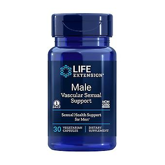 Male Vascular Sexual Support 30 vegetable capsules