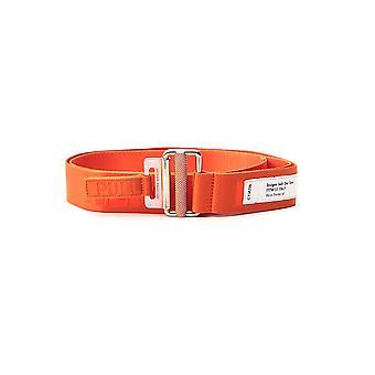 Heron Preston Hmrb005f20mat0012276 Men's Orange Fabric Belt
