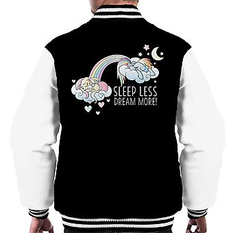 My Little Pony Sleeps Less Dream More Men's Varsity Jacket