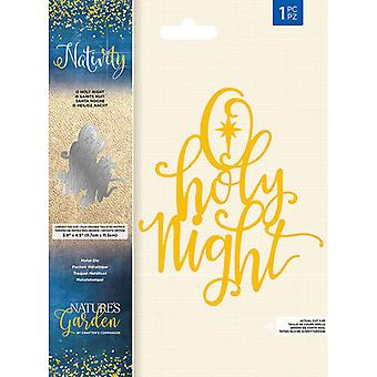 Crafter's Companion Nativity O Holy Night Die
