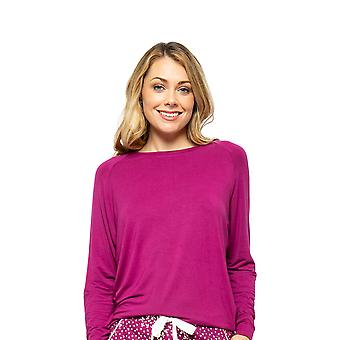 Cyberjammies Nova 4589 Kvinder&APOs;s Berry Slouch Pyjamas Top