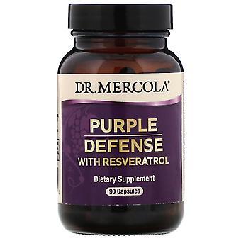Dr. Mercola, Purple Defense with Resveratrol, 90 Capsules