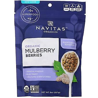 Navitas Organics, Organic Mulberry Berries, 8 oz (227 g)