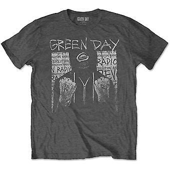 Grønn Dag Ski Maske Offisielle T-skjorte Unisex