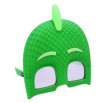 Party Costumes - Sun-Staches - PJ Masks - Gekko Green sg2640