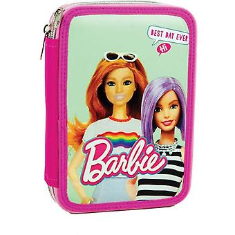 Barbie 27-Part Pen Caz Dublu Sat-In-Case Stipus PenSet