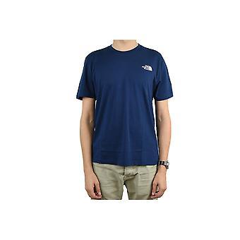 ノースフェイスシンプルドームティーT92TX5M6SユニバーサルオールイヤーメンズTシャツ