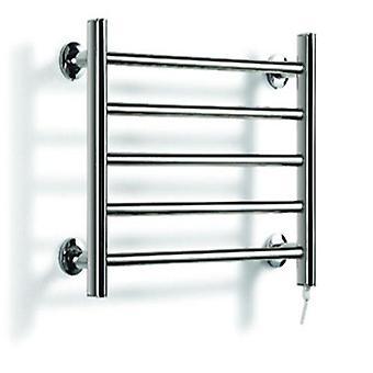 Varmare rostfritt stål Fem-lagers uppvärmd handdukshängare - Väggmonterad elektrisk torktumlare