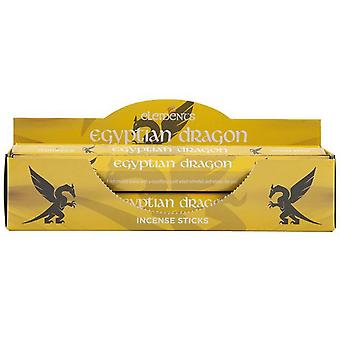 Elements Egyptian Dragon Incense Sticks (Box Of 6 Packs)