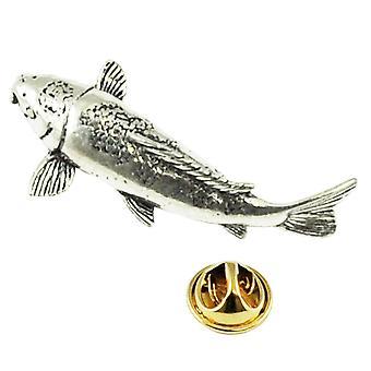 Krawatten Planet Koi Karpfen Fisch Zinn Anstecknadel Abzeichen