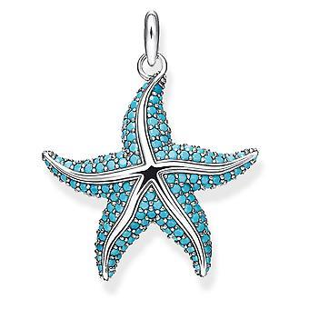 Thomas Sabo sterling sølv Thomas Sabo Ocean stjerner zirconia Starfish vedhæng PE807-667-17
