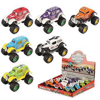 Fun Kids Push Along Crazy Racing Car X 1 Pack