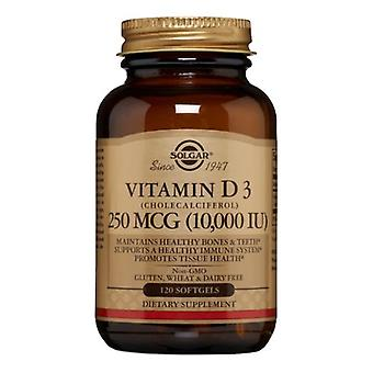 Solgar Vitamine D3-Cholecalciferol, 10 000 UI, 120 S Gels