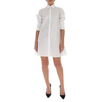 Victoria Beckham 2320wdr001406a Women's White Cotton Shirt