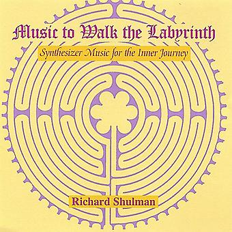 Richard Shulman - muziek te lopen van de labyrint [CD] USA import