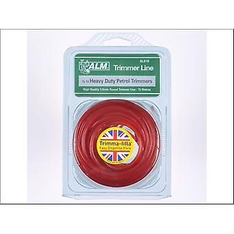 ALM Trim Line 3mm x 15m Red SL018