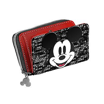 Disney Mickey Mouse Reversible Sequin Purse
