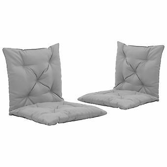 vidaXL gyngestol utgaver 2 stk. grå 50 cm