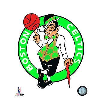 ボストン ・ セルティックスのロゴ写真印刷