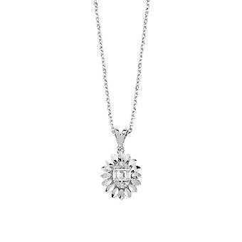 Baguette Diamond halskæde