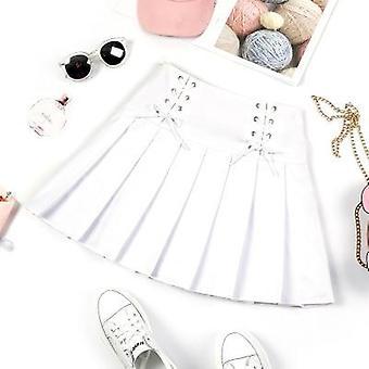 Sports Tennis Skirts Short Dress With Underpants Teen Slim, School Uniform
