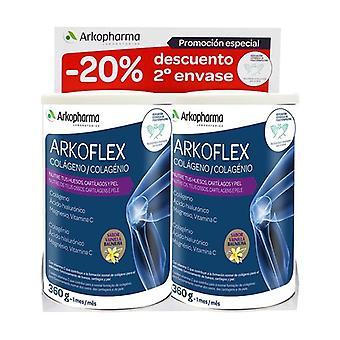 Duplo Arkoflex Collagen Vanilla 2 units of 360g