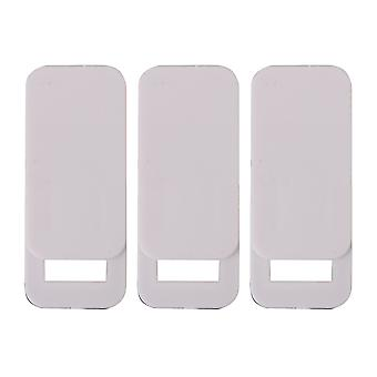 Rectangle White Plastic WebCam Cover Slide Privacy Security Set of 3 Rectangle White Plastic WebCam Cover Slide Privacy Security Set of 3 Rectangle White Plastic WebCam Cover Slide Privacy Security Set of 3 Rectangle White