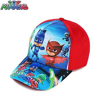 Pj Masks Cartoon Sun Hat Peaked Cap's Cotton Anime Figure Gyro Juguete Catboy