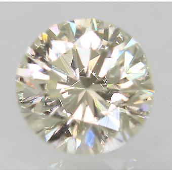 معتمد 0.53 قيراط أنا اللون VS1 جولة رائعة الطبيعية فضفاضة الماس 5.07m 3VG