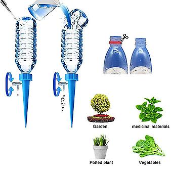 4Pcs/6Pcs Auto Drip Irrigation Watering System Dripper Spike Kits Garden Household Plant Flower Automatic Waterer Tools